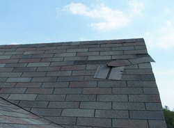 Weather Damaged Roof